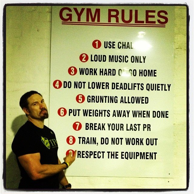 Gym_rules