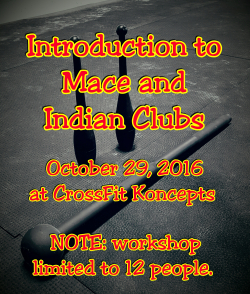 MaceAndIndianClubs