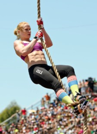 Annie-rope-climb